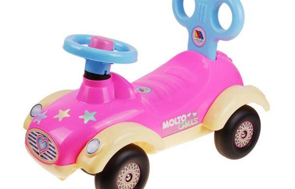 Каталка-автомобиль для девочек