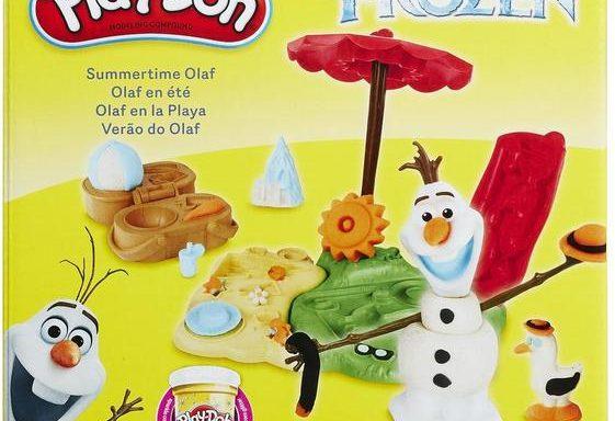 Игровой набор Play-Doh Холодное Сердце — Летние приключение Олафа