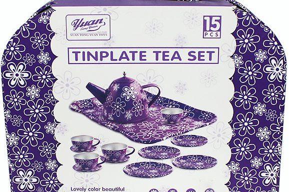Набор «Чайный сервиз» в чемодане